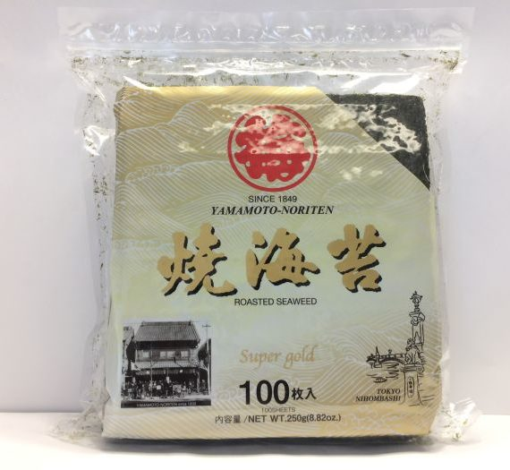 Nori Super Gold 100p