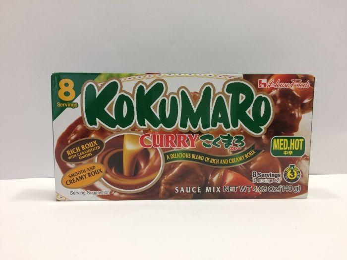 Kokumaro Curry M.Hot 140g