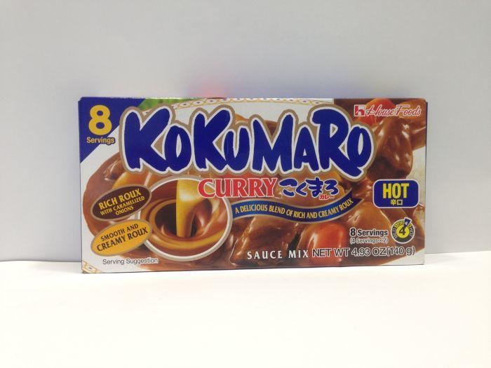 Kokumaro Curry Hot 140g