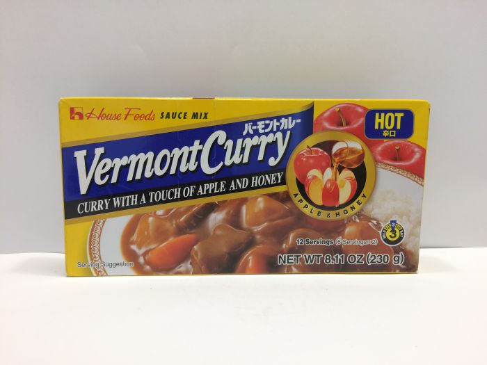 Vermont Curry Hot 230g