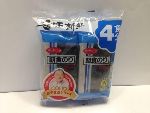 Aji Choshoku Kaori Seaweed 4p