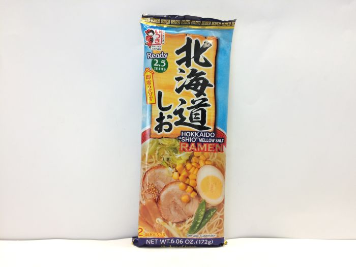 Dried Ramen Noodle (Hokkaido Salt) 172g