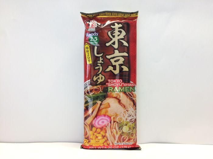 Dried Ramen Noodle (Tokyo Soy Sauce) 176g