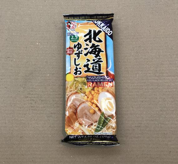 Dried Ramen Noodle (Hokkaido Yuzu Shio) 170g