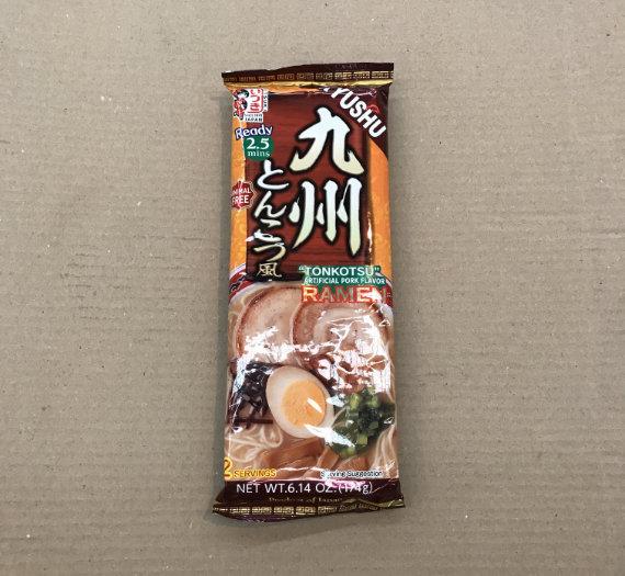 Dried Ramen Noodle (Kyushu Tonkotsu) 174g