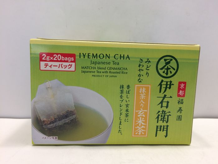 Iemon Genmai Tea Bag 20p
