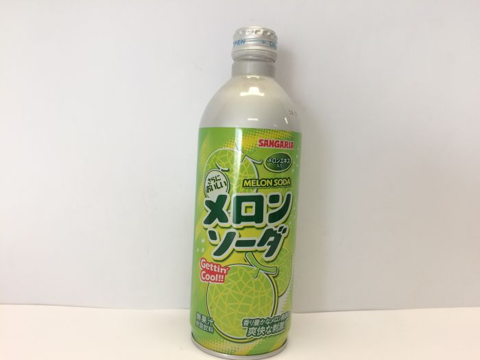 Melon Soda Bottle 500ml