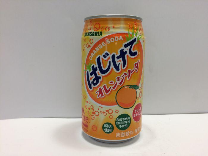 Hajikete Orange Soda 350ml