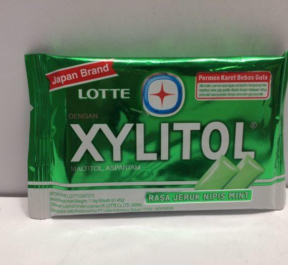 Xylitol Gum Blister Lime Mint 11.6g (8p)
