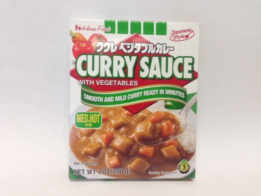 Kukure Vege Curry M.Hot 200g