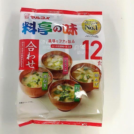 Instanto Miso Soup Awasae