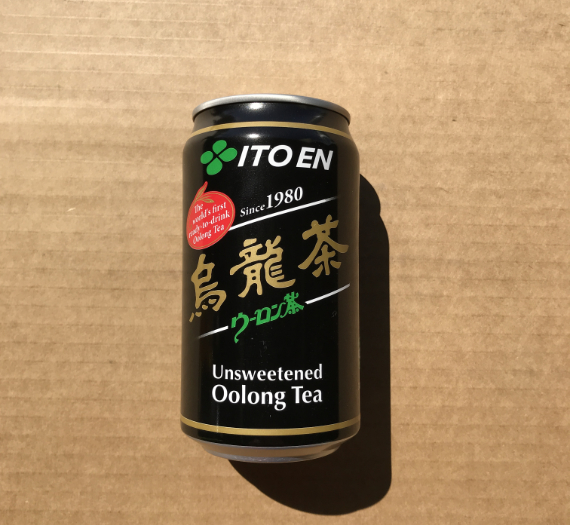 OOLONG TEA CAN