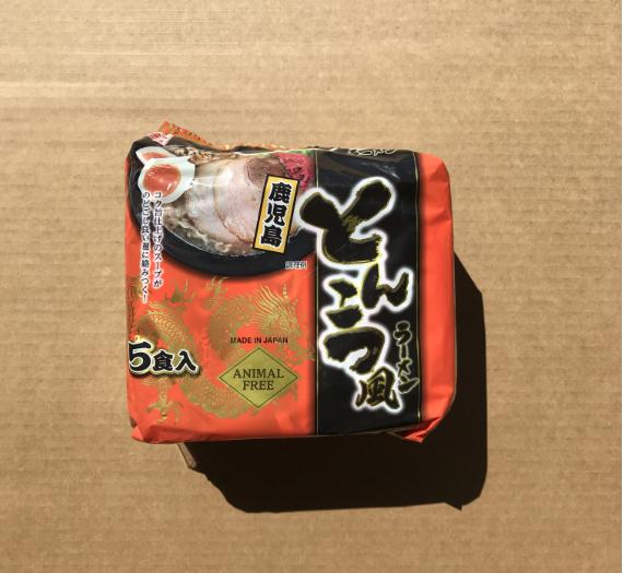 TONKOTSU KAGOSHIMA RAMEN 5P