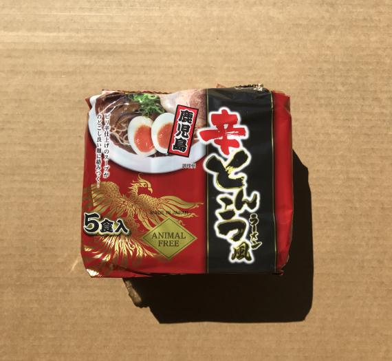 SPICY TONKOTSU KAGOSHIMA RAMEN 5P