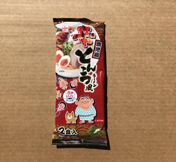 SPICY TONKOTSU KAGOSHIMA RAMEN 2P