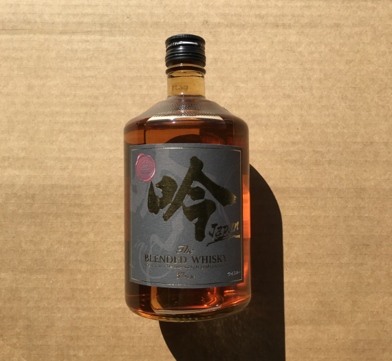 BLENDED WHISKY GIN JAPAN 37% 700ML