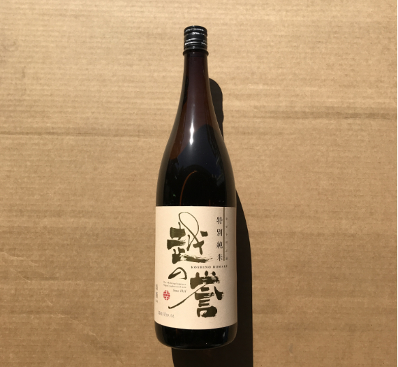 TOKUBETSU JUNMAI IRODORI 1.8L