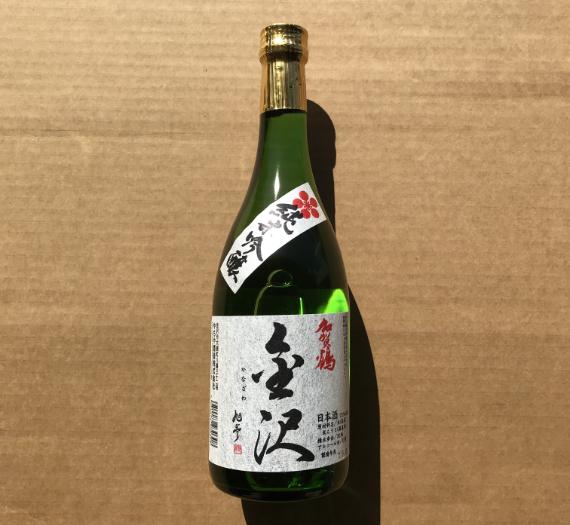 KAGATSURU JUNMAI GINJYO KANAZAWA 720ML