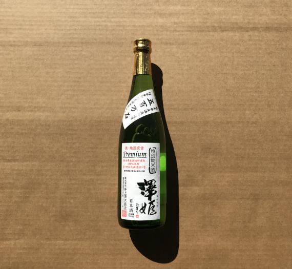 SAWAHIME TOKUBETSU JYUNMAI PREMIUM 720ML
