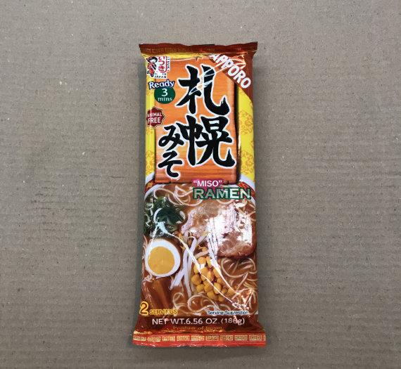 Dried Ramen Noodle (Sapporo Miso) 186g