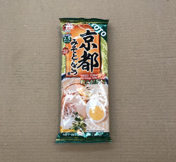 Dried Ramen Noodle (Kyoto Miso Tonkotsu) 182g